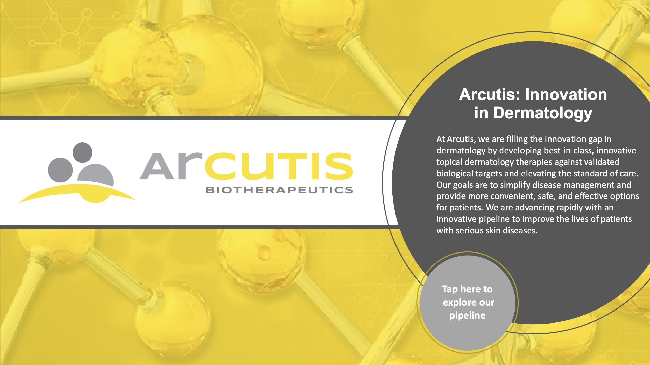 first page of arcutis bioscience pdf